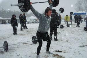 SouthFit Chapelco 2015 competencia de CrossFit en la nieve