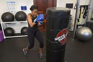 Michelle Obama promueve el ejercicio físico