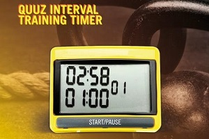 Fitness Beat presenta el Quuz Interval Training Timer