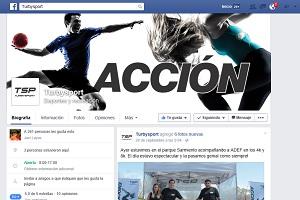 TSP Turby Sport estrena Facebook y web