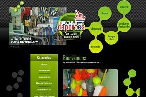 La marca de accesorios deportivos Deportes Full renueva web
