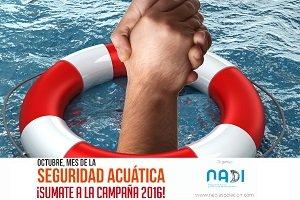 NADI lanza la 3º Campaña Nacional de Seguridad Acuática