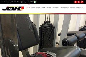 La marca de equipamientos JBH estrenó sitio web
