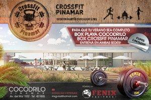 Abren un box de CrossFit en la playa de Pinamar