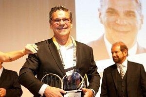 El fundador del Grupo Bio Ritmo, emprendedor del año