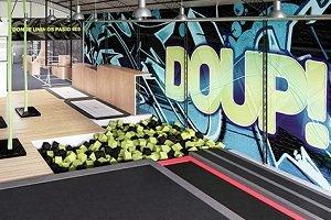 Abre el centro de entrenamiento urbano DOUP! en Villa Crespo