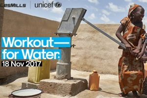 Workout For Water, iniciativa de Les Mills y UNICEF