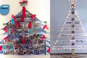 Grupo Duet decora sus gimnasios con materiales reciclados