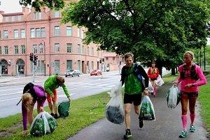 #Plogging propone correr recogiendo los residuos
