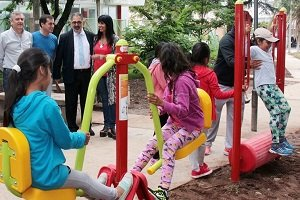 gimnasio urbano para niños en jujuy
