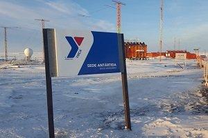 YMCA instaló un gimnasio en la Antártida