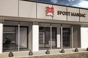 Se prepara la segunda tienda de Sport Maniac