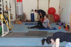 Se instaló box de entrenamiento en el Club Jóvenes Deportistas de Lugano