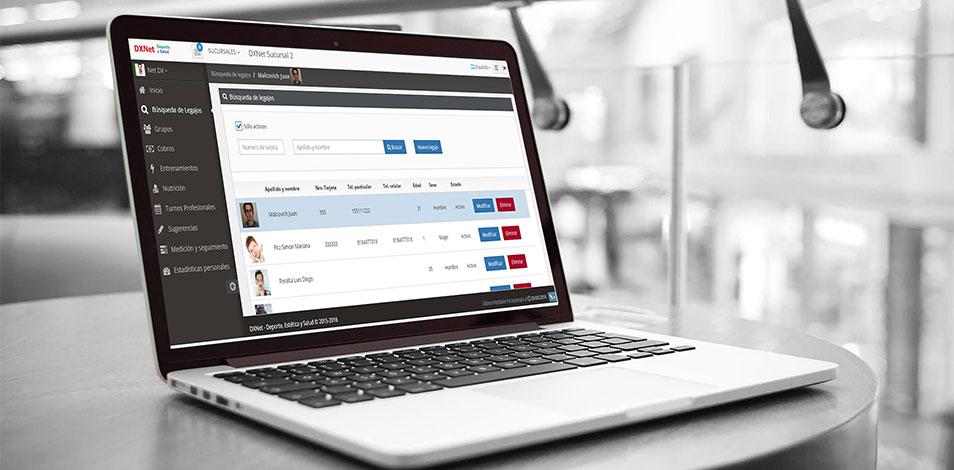 Deportnet lanzó su nueva app para socios