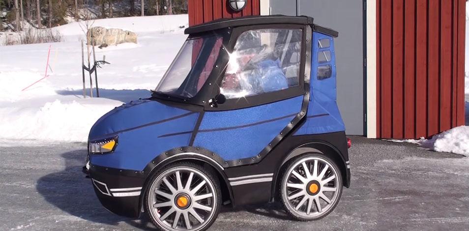 Desarrollaron una bicicleta eléctrica de cuatro ruedas