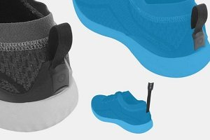 Samsung prepara zapatillas inteligentes con sensores de fitness