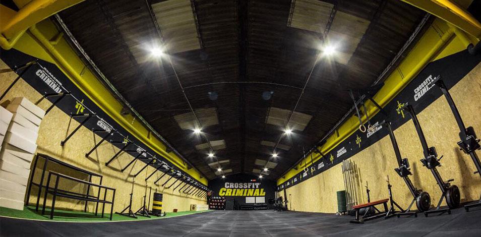 Se instaló el box CrossFit Criminal en Mar del Plata