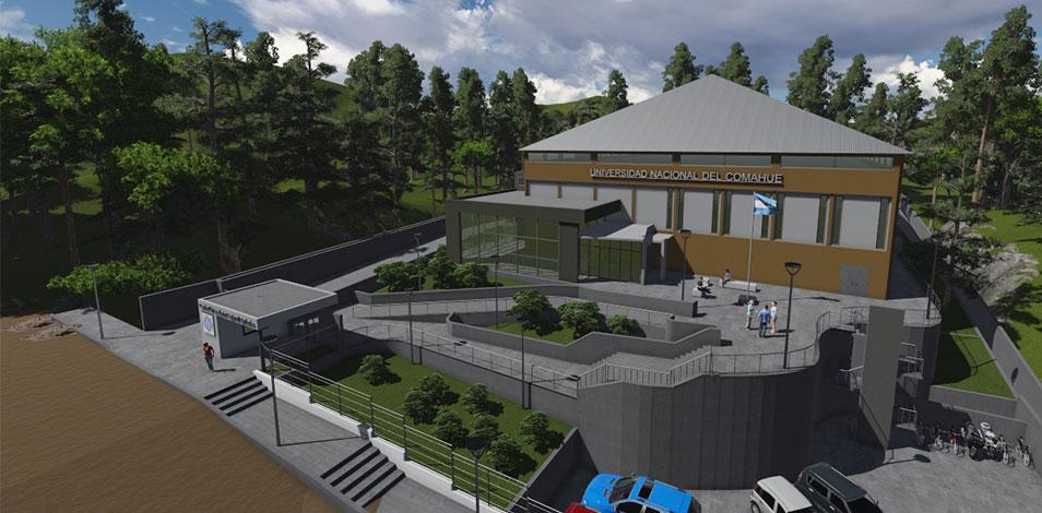 La Universidad del Comahue tendrá un gimnasio de 2000 m2 en Bariloche