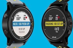 Atlas lanza un smartwatch para entrenamiento con pesas