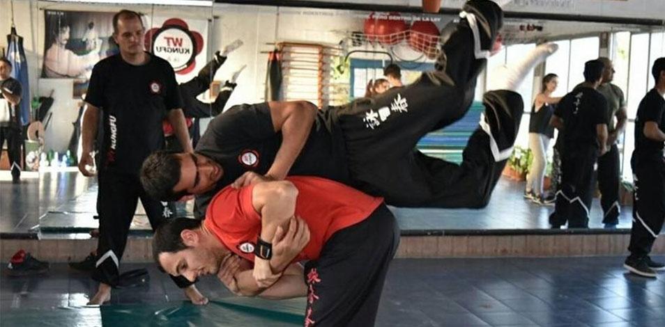 La escuela WT Kung Fu abrió una sede en San Telmo