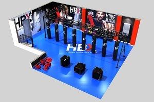 Synergym presenta el nuevo entrenamiento cardio HBX Boxing