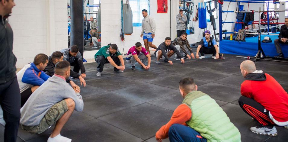 Megatlon donó un gimnasio a la Unidad Penal 48