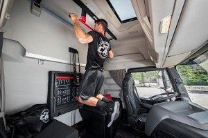 Iveco Fit Cab incluye un gimnasio en la cabina del camión