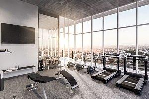 Inmobiliarias apuestan a gimnasios más profesionales en edificios
