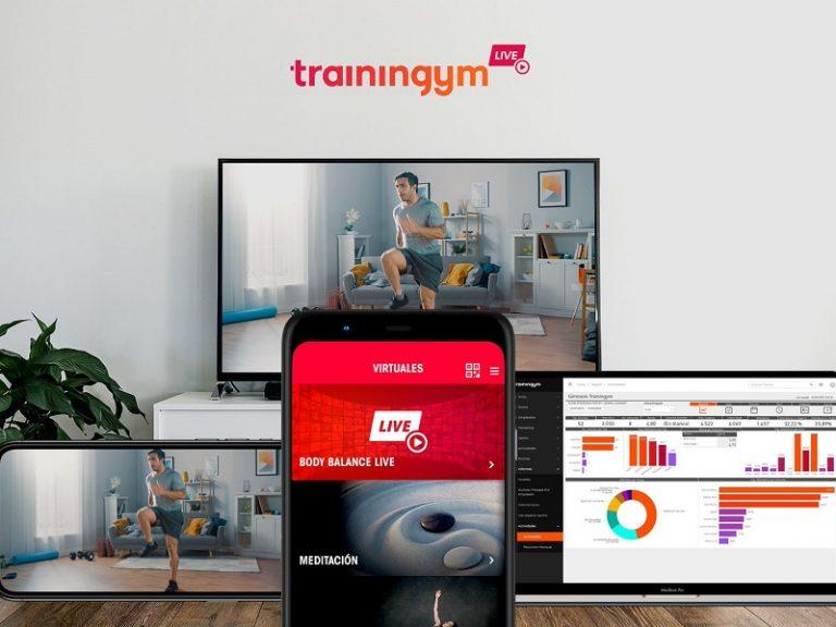 Hoy ponen en marcha la nueva plataforma Trainingym Live